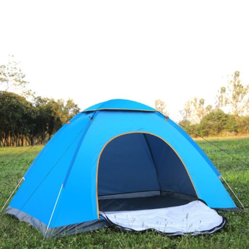 Camping Fully Automatic Folding Tent 1 2 Person Beach Waterproof Beach Tent  Ultralight Outdoor Hiking Picnic Pop Up Tents Shelter For Dogs No Kill  Shelter ... f43861b92233