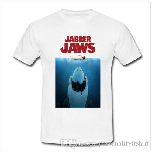 9cdacefa7 Rare Design JAWS Movie Poster Movie New Tee T-Shirt For Men Size S ...
