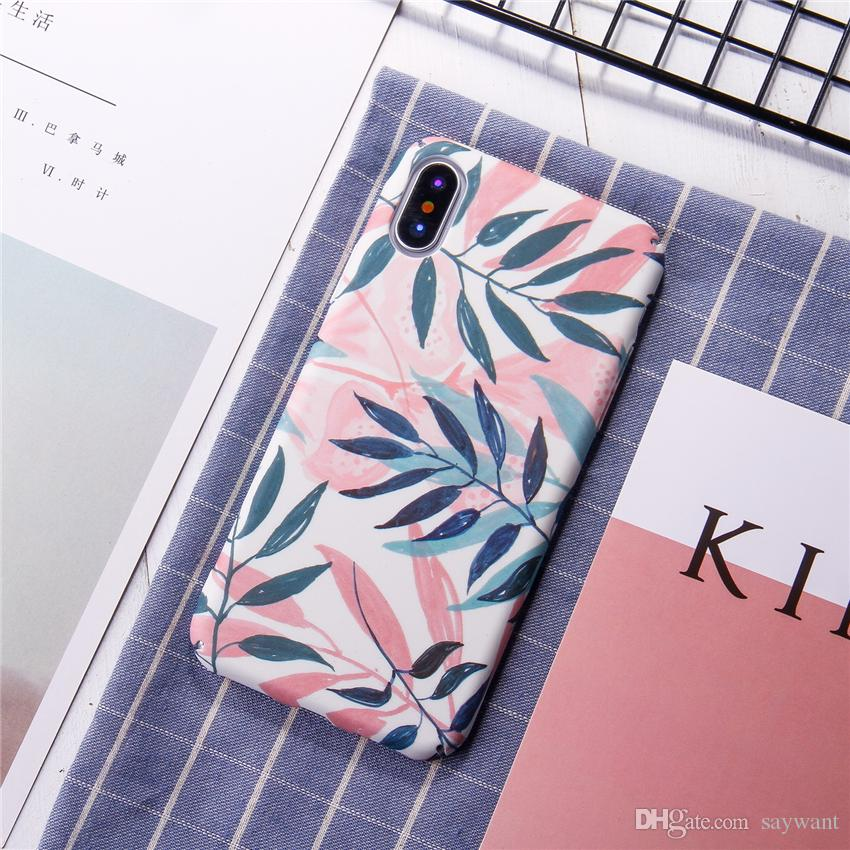 21 Patterns Fashion Phone Hard Cases for iPhone X 6 7 8 Plus All-inclusive Protective Cover Factory Wholesale Price