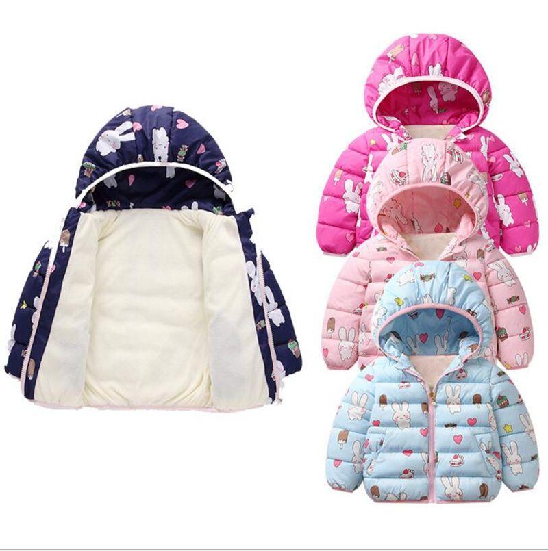 3b7724e0a Kids Down Coat Boys Winter Hooded Outerwear Girl Long Sleeve ...