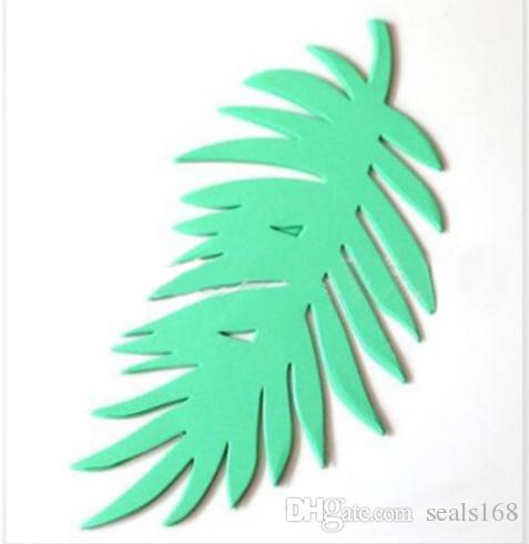 /Pack DIY Paper Turtle Leaf Palm Leaves Backdrop Decor Kids Birthday Party Wedding Party Home Room Decor Supplies 8 Styles HH7-1086