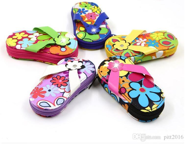 Flip Flop Pedicure Manicure Set for wedding door gifts bridal favors promotional gifts wholesale