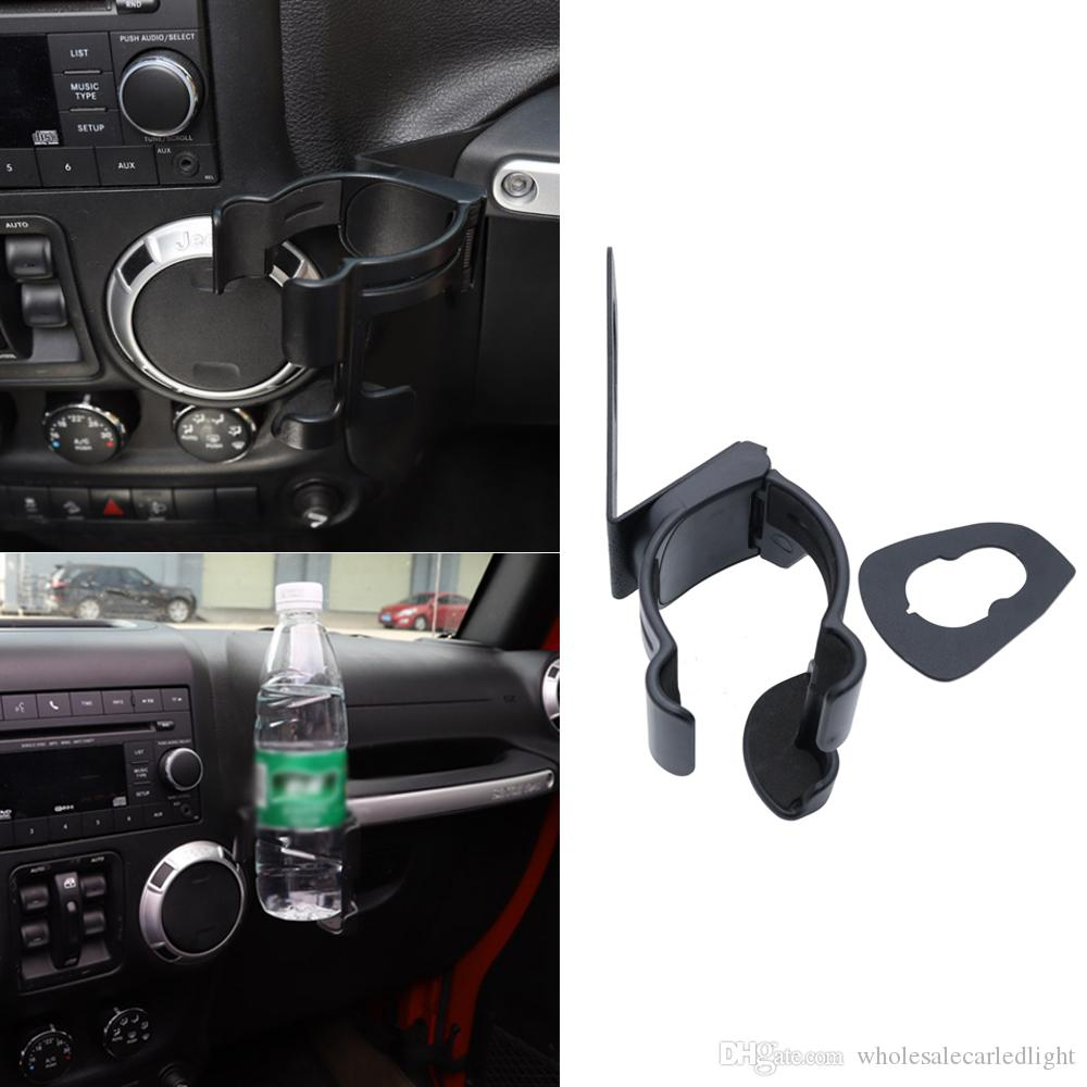 Newest Water Cup Bottle Car Mobile Phone Gps Cell Mount Holder Stand Jeep Wrangler In For Jk 2007 17 Interior Stickers Storage From