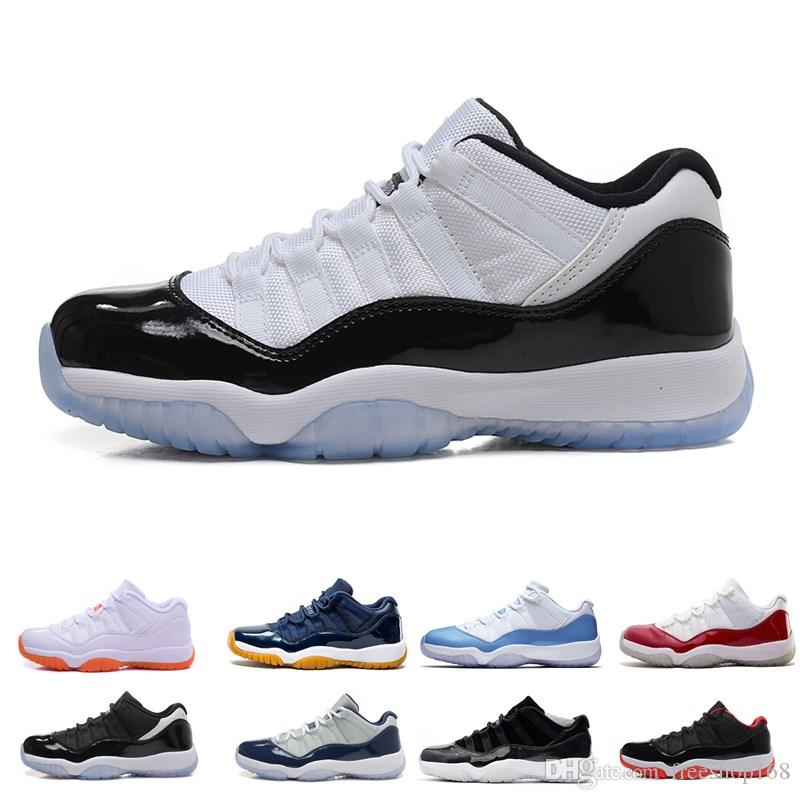 b4b5986f747 2019 11 Gym Red Chicago 11s Prom Night Concord Space Jam Legend Gamma Blue  Midnight Navy Basketball Shoes XI Bred Men Woman Sports Shoe Athletics From  ...