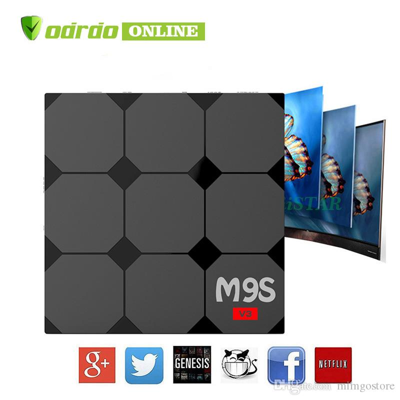 M9S V3 1GB 8GB Android6 0 OTT TV Box 4K HDR H 265 HEVC 3D video play RK3229  Internet TV BOX IPTV BOX