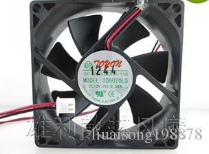 PARA Nueva TD8020LS 12V 0.08A 8CM dispensador de ventilador 80 * 80 * 20 MM ventilador silencioso