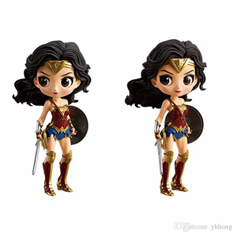 Modelo Regalo Posket Mujer Caja Brinquedos Figura Sin Acción Muñeca Q Cm La Maravilla Figurals 14 De Juguete Colección f6gYmb7Iyv