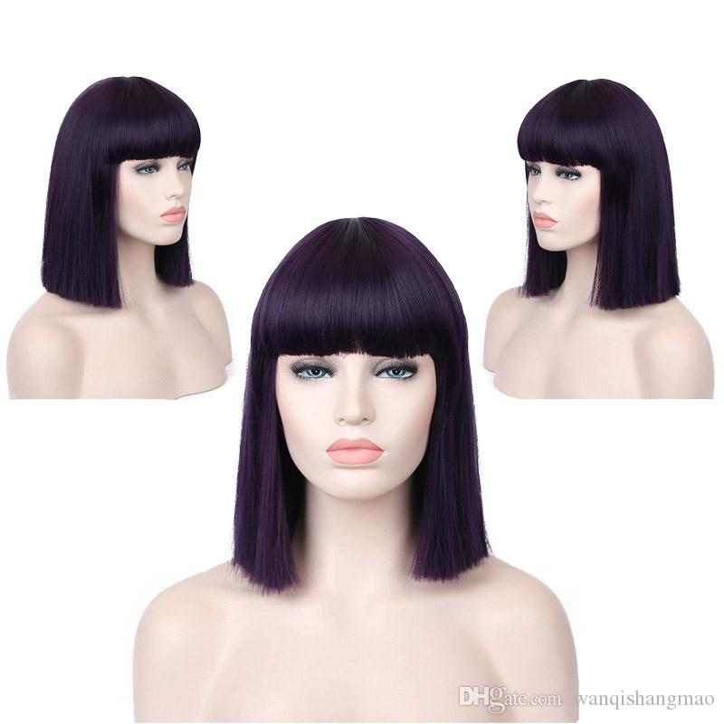 Top Quality 14 Black Claret Brown Purple Dark Purple Blue Short