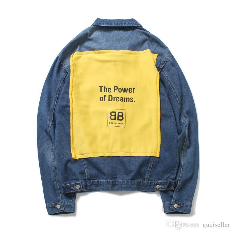 BB New Luxury Brand Jacket Men Women Casual Denim Jacket High ... 8a6473791