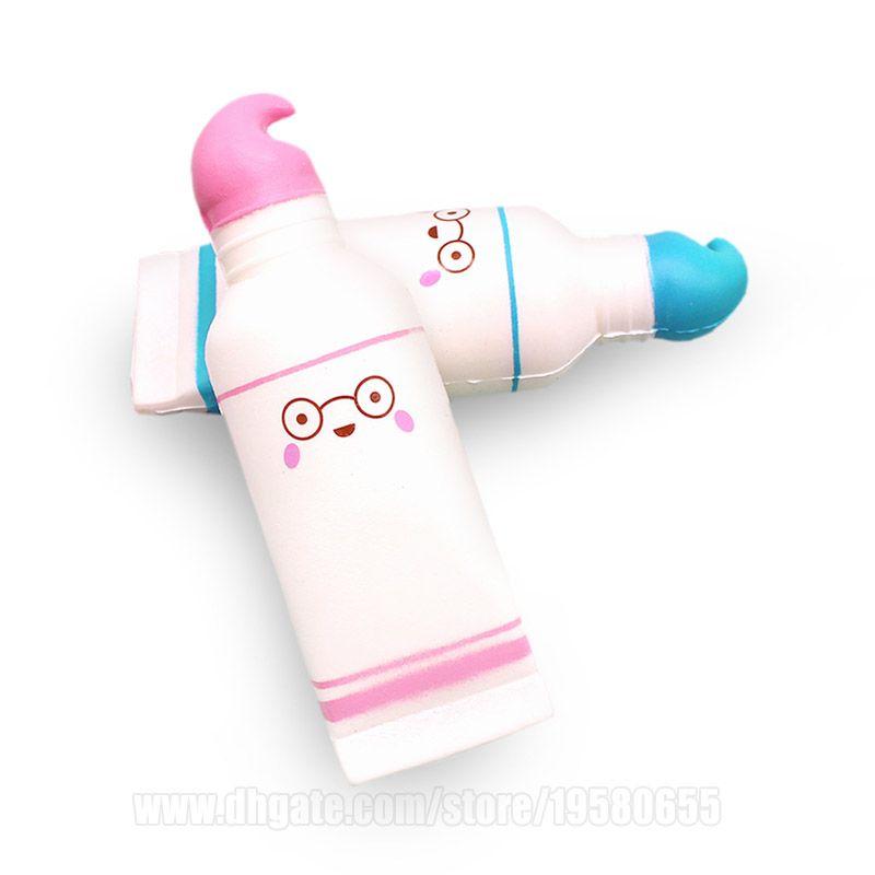 Toothpaste Squishies Toy Cartoon Dental Cream Squishy Slow Rising T O Y DHL Free Shipping SQU044