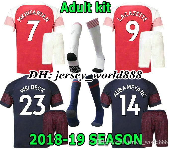 2019 LACAZETTE 18 19 OZIL TORREIRA Home Soccer Jersey Kits Adult MKHIARYAN  Arsenal BELLERIN XHAKA 2018 2019 Away 3RD Football Shirt AUBAMEYANG From ... caa9bcaf9