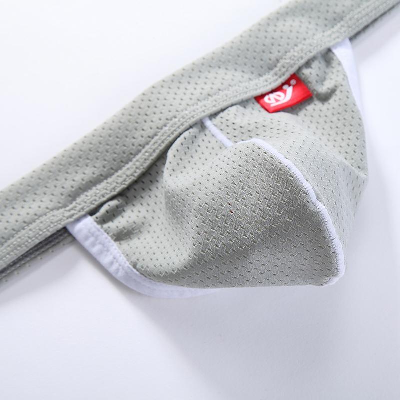 Mens Sexy Jockstrap Mesh Hole G-Strings & Thongs Sissy Underwear Jock Strap Gay Thong Pouch Penis Mens G String Underwear Pants Underpants