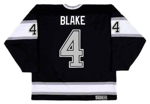 buy online a0160 e10a3 2018 Wholesale Cheap ROB BLAKE Los Angeles Kings 1993 CCM Vintage Away  Hockey Jersey All Stitched Top-quality Any Name Any Number