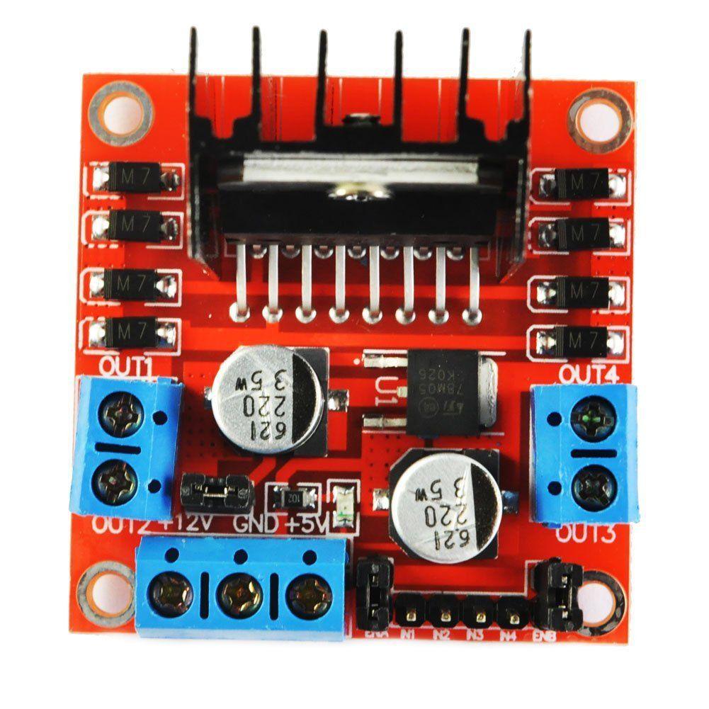 L298 Dual H Bridge Motor Driver Besides Stepper Wiring Simple Controller Schematic Circuits Elektropagecom L298n Board For Arduino Smart Rh Dhgate Com