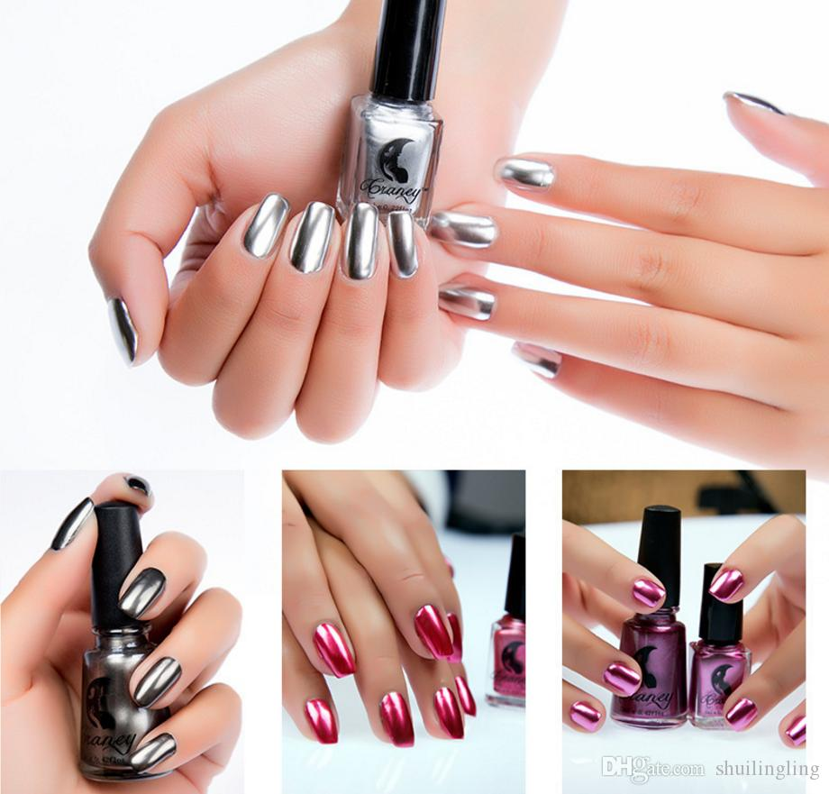 New 2018 Metal Color Stainless Steel Mirror Silver Nail Polish Manufacturers Selling DHL Online With 35 Piece On Shuilinglings Store
