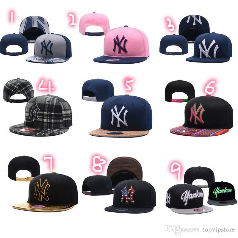 Acquista HOT Sale 2018 Cappelli New York Da Uomo Cappellino Da Baseball Hip  Hop Da Donna Cappellino Snapback Regolabile NY Cappello Base Cappelli Da ... 5cc270d591c2