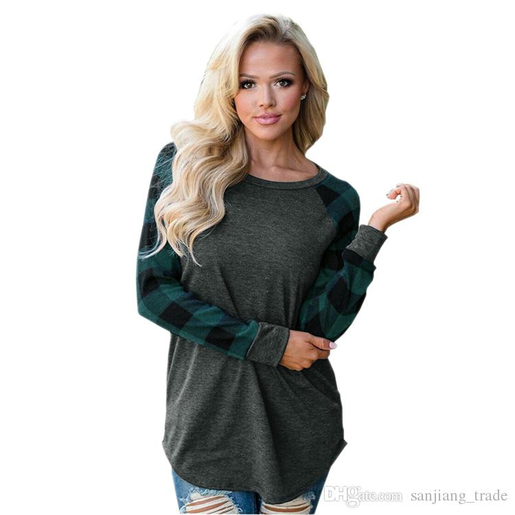 9189040859072 2019 Hot Sale Women Casual Good Quality Long Sleeve T Shirt Ladies Girls  Fashion Sexy Spring Autumn Clothing Outdoors Wear From Sanjiang trade