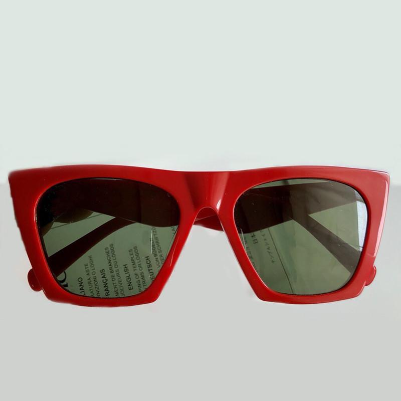 fce69753ca Fashion Designer Vintage Retro Square Sunglasses High Quality ...