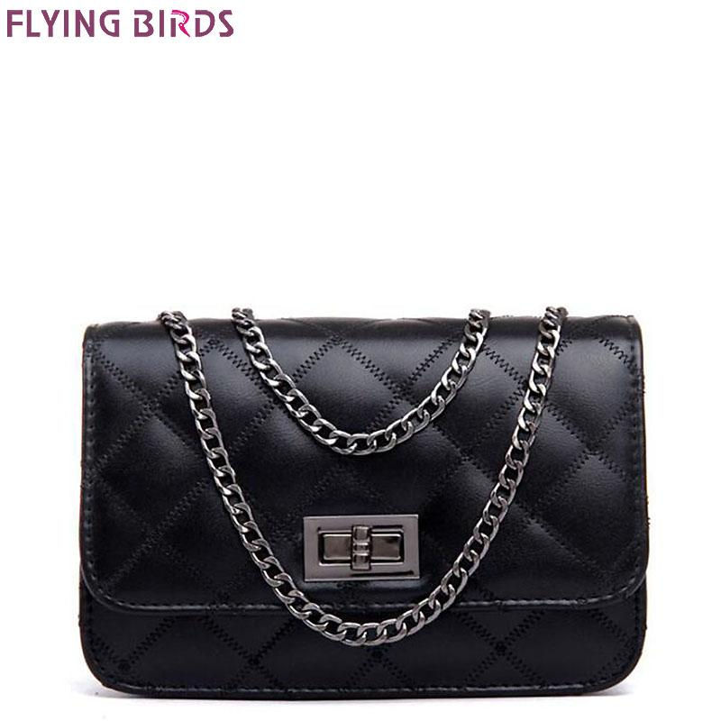 FLYING BIRDS Hot Women Messenger Bags High Quality PU Leather Famous Brands Design Women Bag Luxury Classical Handbag