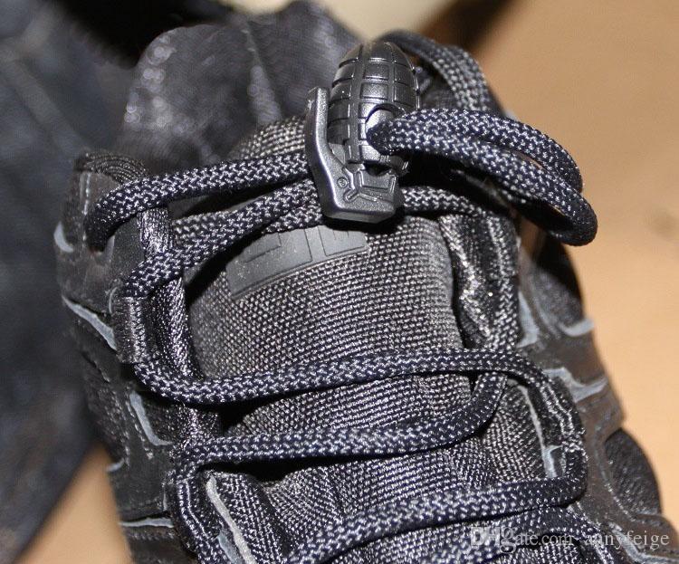 EDC Dişli Taktik Açık Yürüyüş Botları Ayakkabı Ayakkabı Bağı Sıkma Kaymaz Toka Ayakkabı Bağı Toka Klip Ücretsiz Kargo