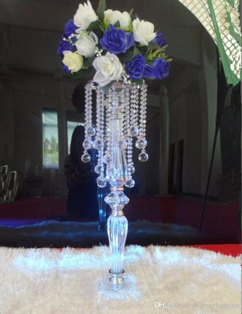Wondrous Crystal Rhinestone Candelabra For Wedding Party Elegant Candle Holder Pretty Table Centerpiece Vase Stand Candlestick Wedding Decoration Home Interior And Landscaping Synyenasavecom
