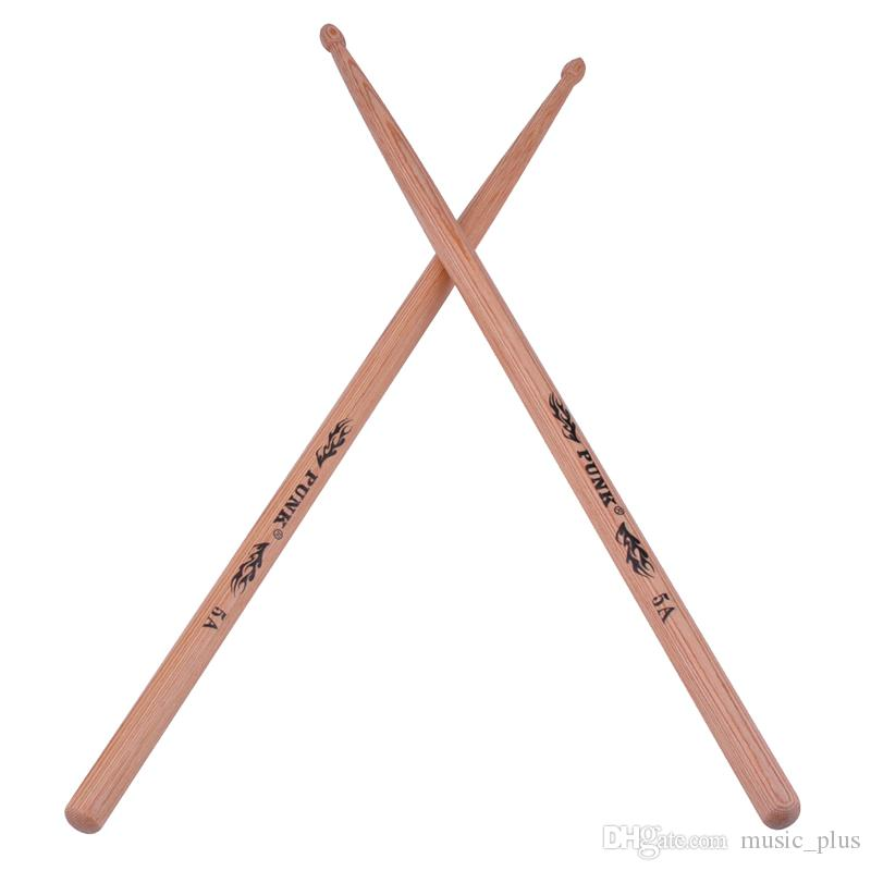 2019 hickory wood drumsticks 5a drum stick wood tip drumstick for drummer from music plus. Black Bedroom Furniture Sets. Home Design Ideas