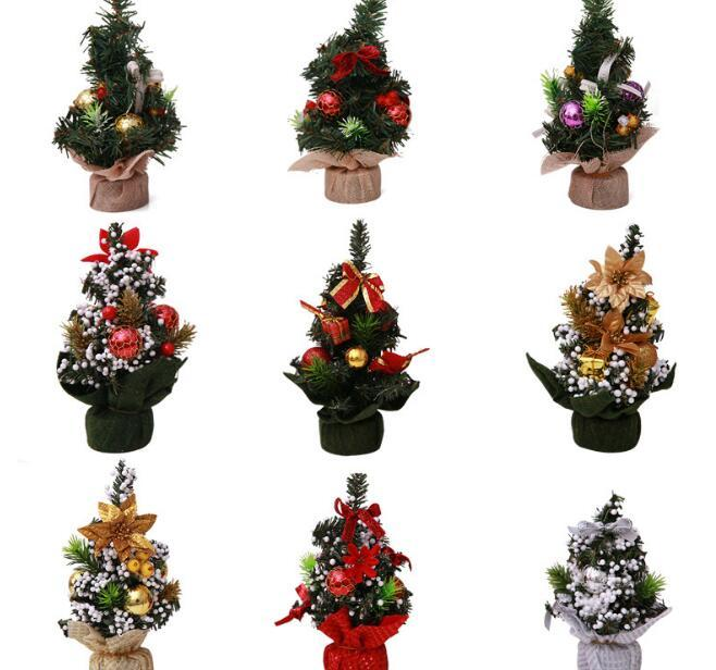 small christmas tree artificial christmas tree diy decorative tree for home decor weddingchristmas party table decorations decorating your house for