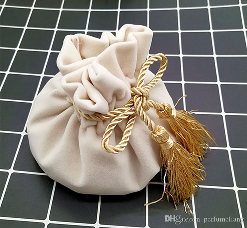 Party Favor Bag Wedding Candy Bag Souvenir Gift Favor Pouches Velvet Bundle Baby Shower Return Gifts QW7063