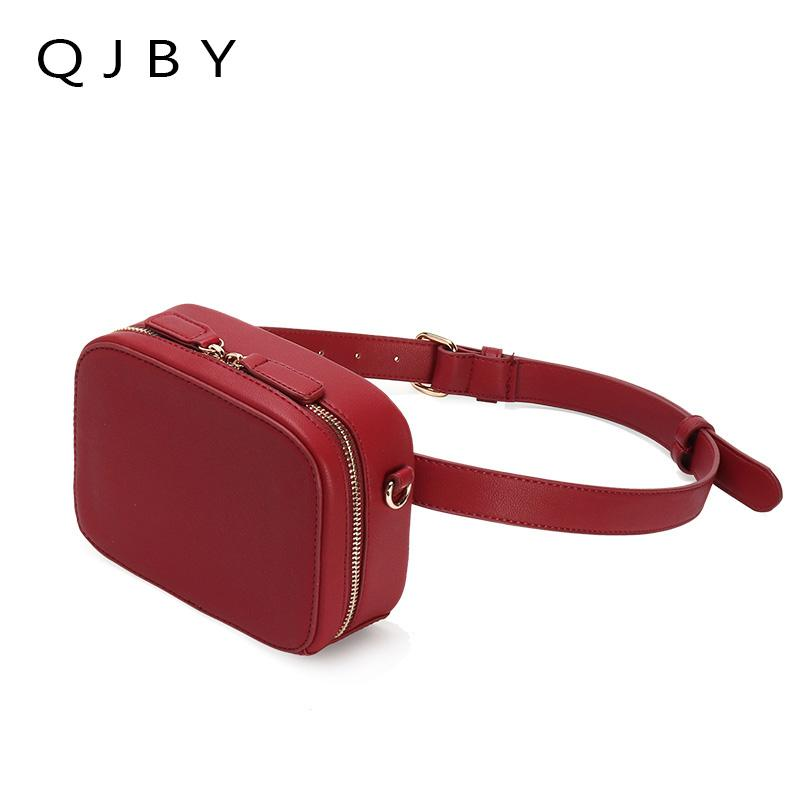 f90bc6fb824 Belt Bag Waist Packs 2018 Hight Quality Fanny Pack Women Luxury Brand PU  Leather Lady Chest Handbag Shoulder Purse For Woman Side Bags Handbag Sale  From ...