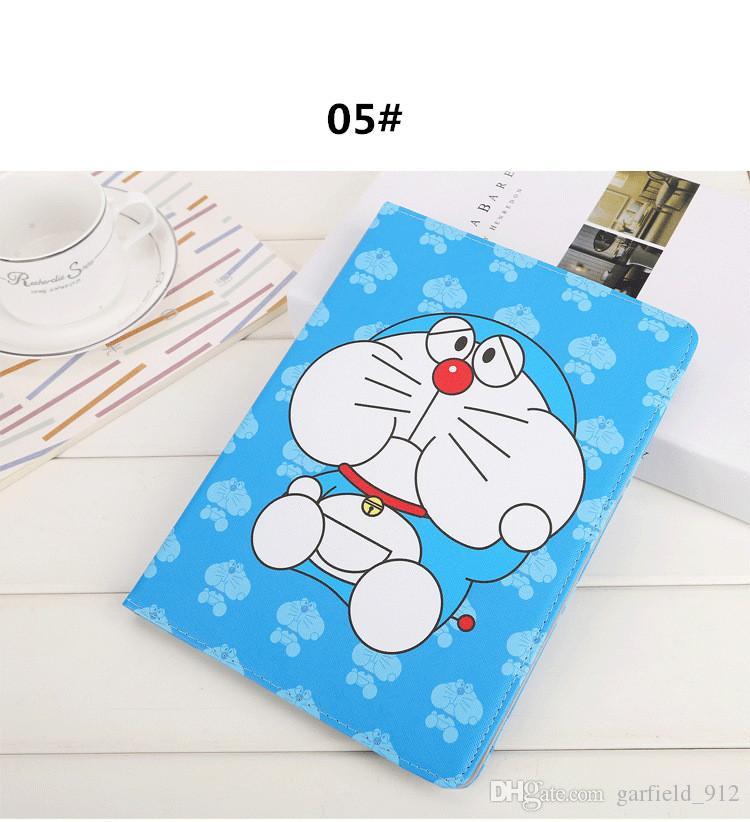 Для Apple iPad Mini 4 Case мультфильм Doraemon стенд Case авто сна Wake Up для iPad air1 / air2 Pro 9.7 дюймов 2017 мультфильм Doraemon case