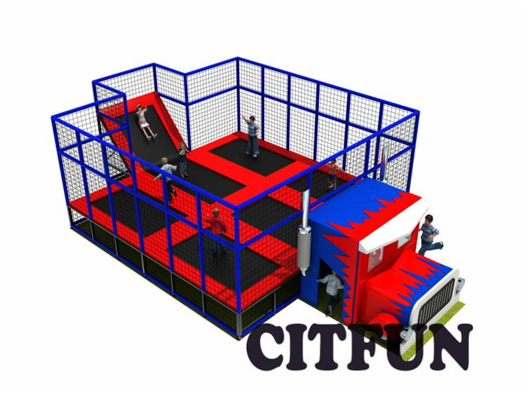 12*8m factory price trampoline park equipment for sale CIT-TP223c