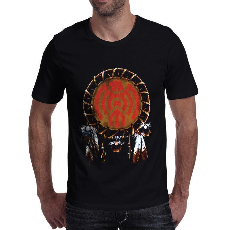 7c357007982 New Indian Eagle Clan Insignia Mens Black T Shirt Size M XXXL 2017 New  Leisure Fashion T Shirt Men Cotton Short Sleeves T Shirt Tee Best Funny T  Shirts From ...