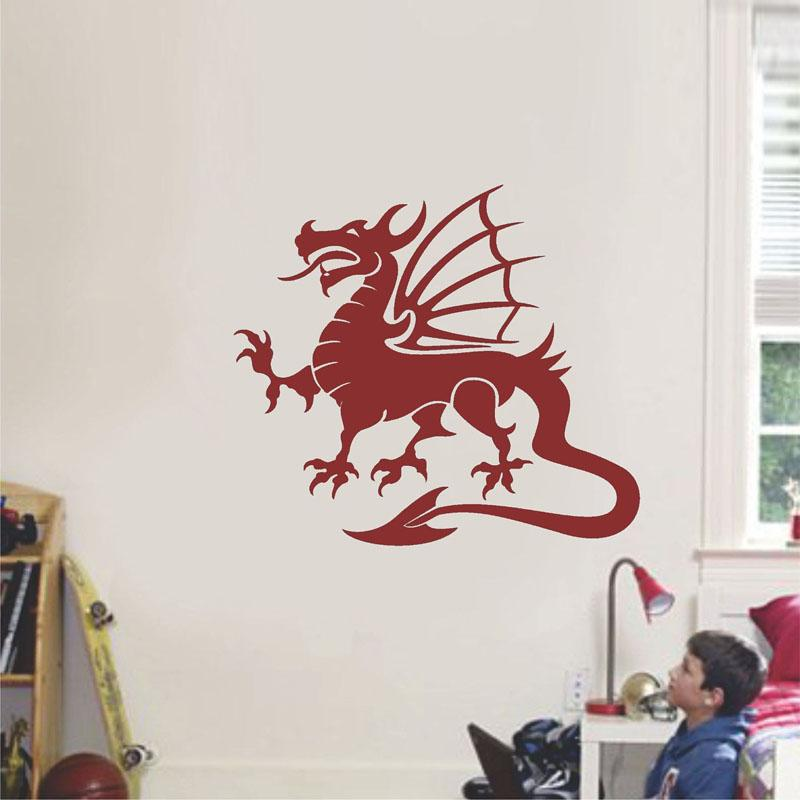 dragon removable wall stickers for nursery kids room home art decor