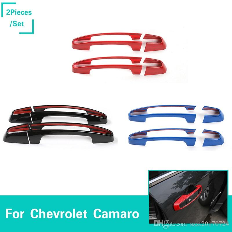 Interior Mouldings For Chevrolet Camaro 2016 2017 Abs Interior Car Door Stereo Speaker Cover Trim 2pcs Car Styling Car Styling Accessories!