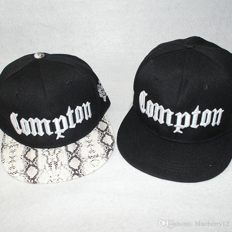 Mens Snapback Fashion Letter Embroidered Compton Snapbacks 4 Styles Stree  Style Mens Ball Caps Big Hats Hat Stores From Blueberry12 52c9d8a96f8a