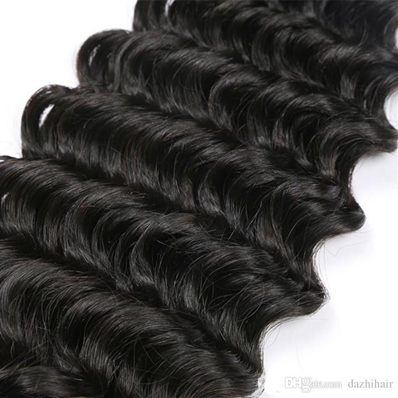 I peli vergini brasiliani economici del tessuto dei capelli umani del lotto 100g / pc dei capelli vergini brasiliani liberano il trasporto DHL