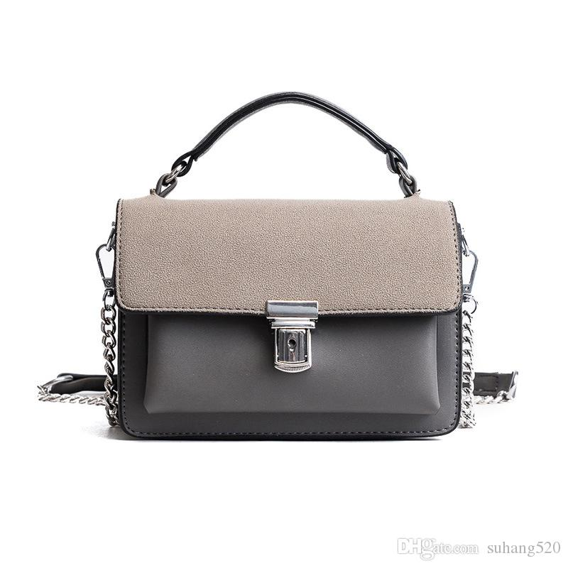 da140b2601 Famous Design High Quality Luxury Woman Bag Shoulder Bag Casual Pure Color  Vintage Soft Crossbody Bags Chain Flap Messenger Bags Hobo Bags Designer  Bags ...
