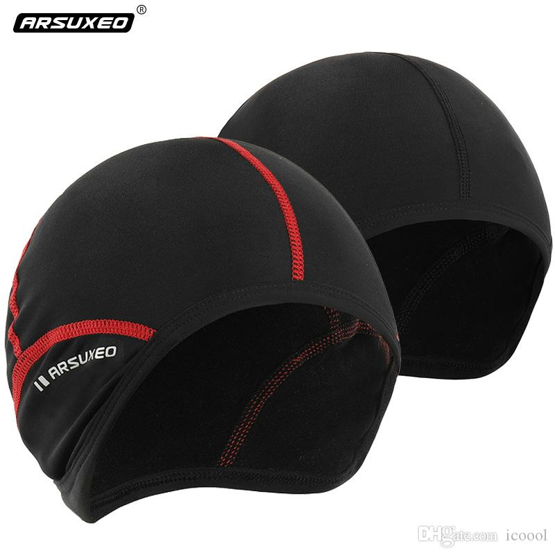 2019 Wholesale Cycling Cap Outdoor Sports Men Bicycle Bike Running Hats  Skiing Fleece Windproof Bandana Winter Snow Headband Ciclismo From Icoool 0ea55e3dcb6