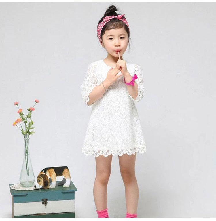 V-TREE Mother Daughter Dresses Family Matching Outfits Lace Princess Dress For Girls Party Costumes Mommy And Me Clothes
