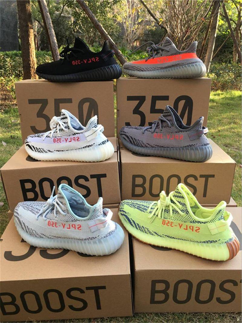 Adidas Yeezy Boost 350 V2 *** *** Infantil Crema Blanca BB6373