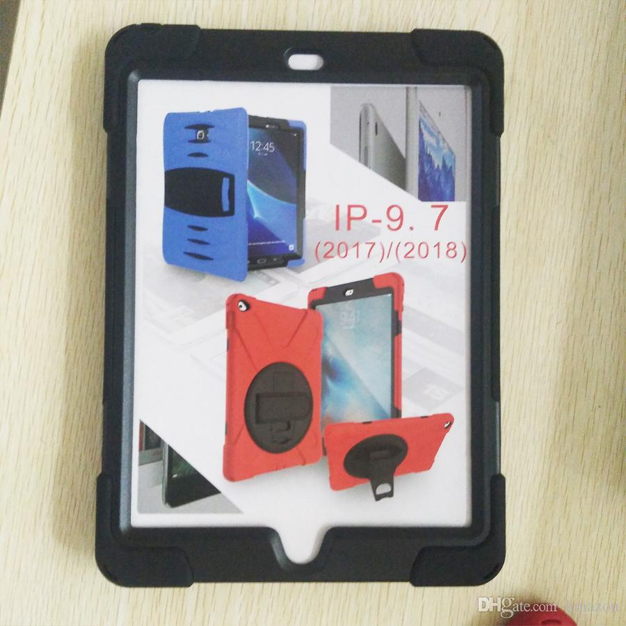 Heavy Duty Shockproof Armor Case for Apple iPad Mini 12 3 4 5 6 Air Pro 9.7 10.5 Hard Hybrid High Impact Defender Full Body Protective Cover