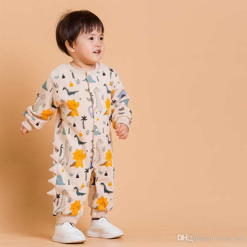 388cd6c4ed6b INS Boys Girls Baby Rompers Cotton Newborn Onesies Clothing Cartoon ...