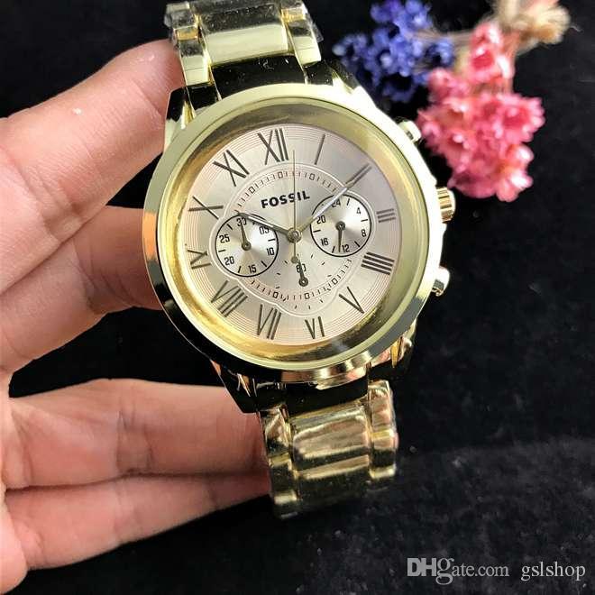 48e2cf10d77 Compre Marca De Luxo Relógios Militares Dos Homens De Negócios De Moda  Casual Relógios De Quartzo Dos Esportes Dos Homens Relógio De Pulso De Aço  De Alta ...