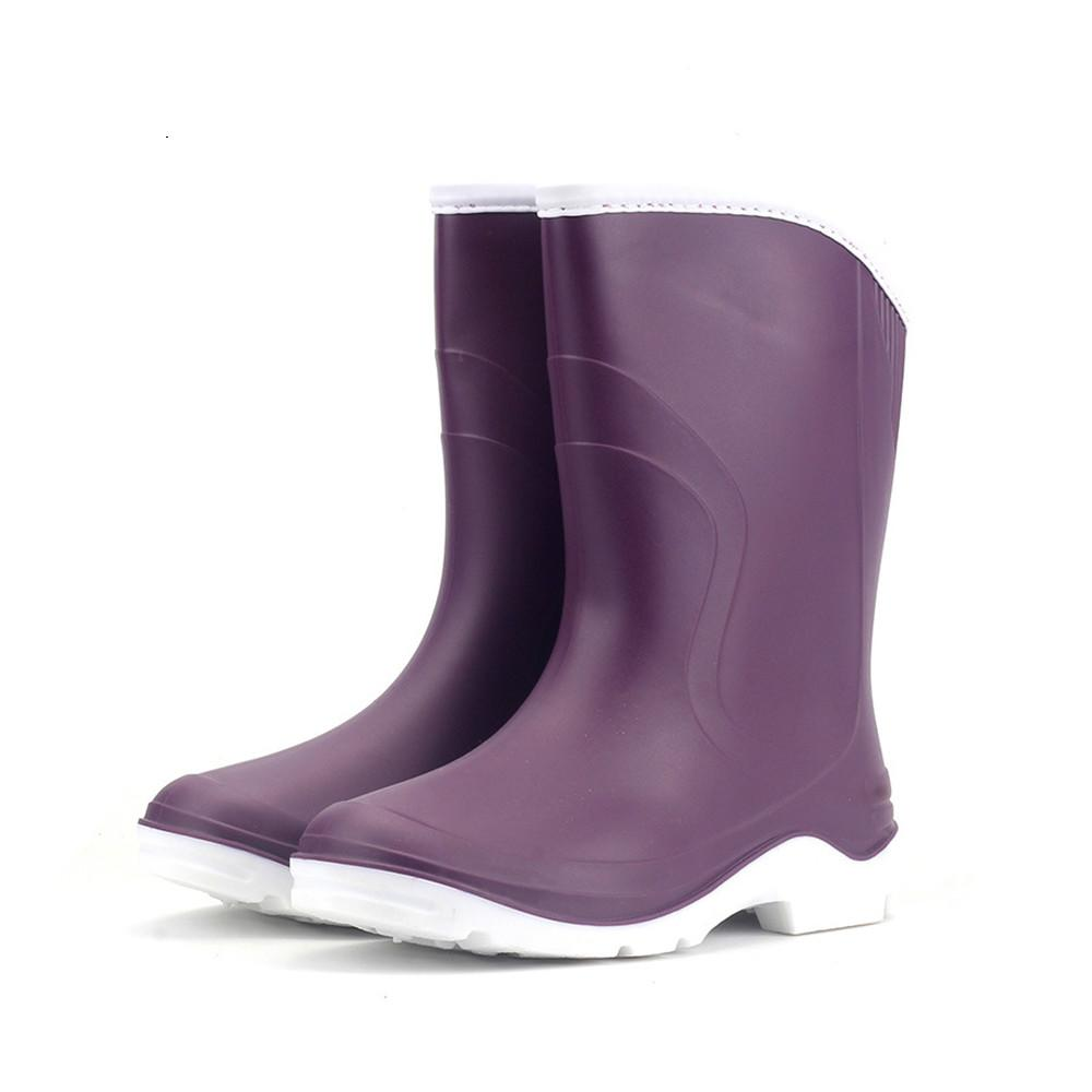 PVC Ladies Waterproof Rain Boots Women Rubber Breathable Fashion Knee High  Anti Slip Rainboots Water Shoes Female Botas HS467 Waterproof Boots Western  Boots ... a0edcfbd33f0