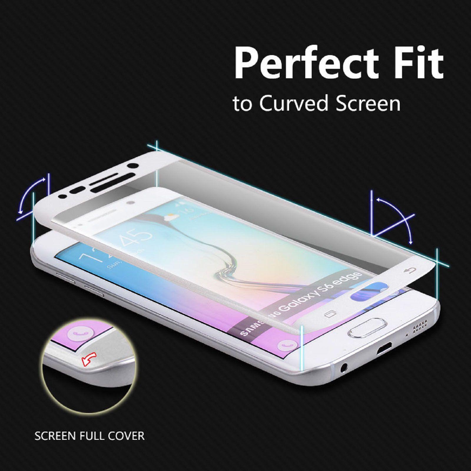 3D протектор экрана высокое качество закаленное стекло протектор экрана для Samsung Galaxy S6 EDGE