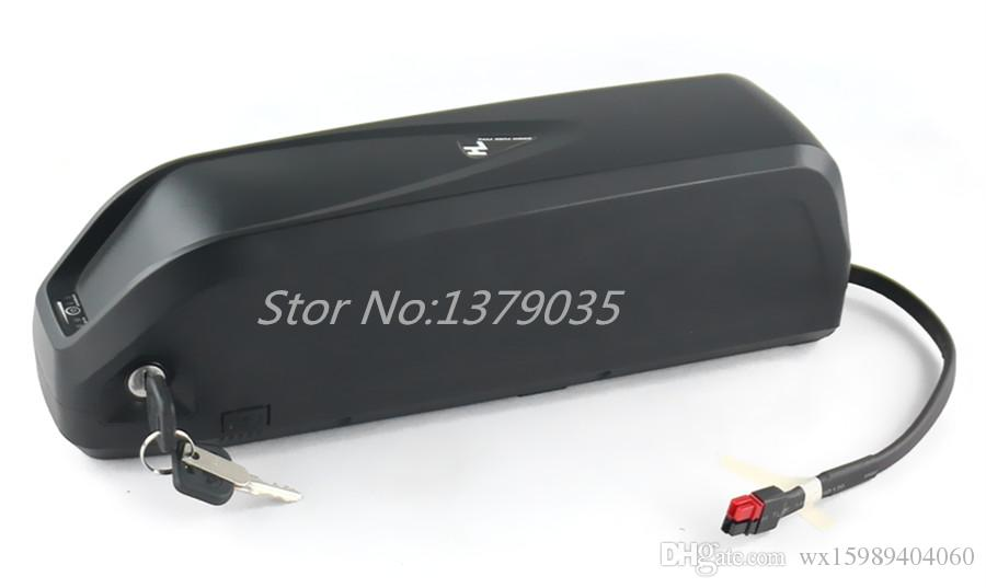 US EU No taxes Hailong battery Sanyo GA cell 48V 17.5Ah Li-ion electric bike battery for Bafang 1000W 750w 500w BBSHD motor kit