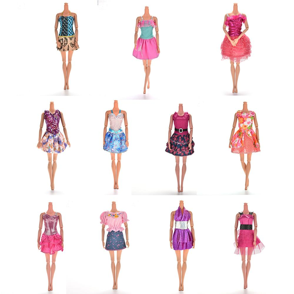 a97bed5b06775 Multi Styles Pick Handmade Doll Dress for Fashion Summer Party Priness  Dress for Dolls Clothing One Piece