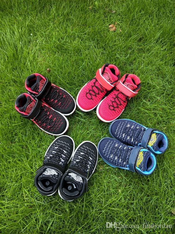promo code d98e7 13807 2018 neue Ankunft Kinder Schuhe 32 Flüge Geschwindigkeit Designer Schuhe  Jungen Mädchen Sportschuhe Sportschuhe 32s Kinder Turnschuhe ...