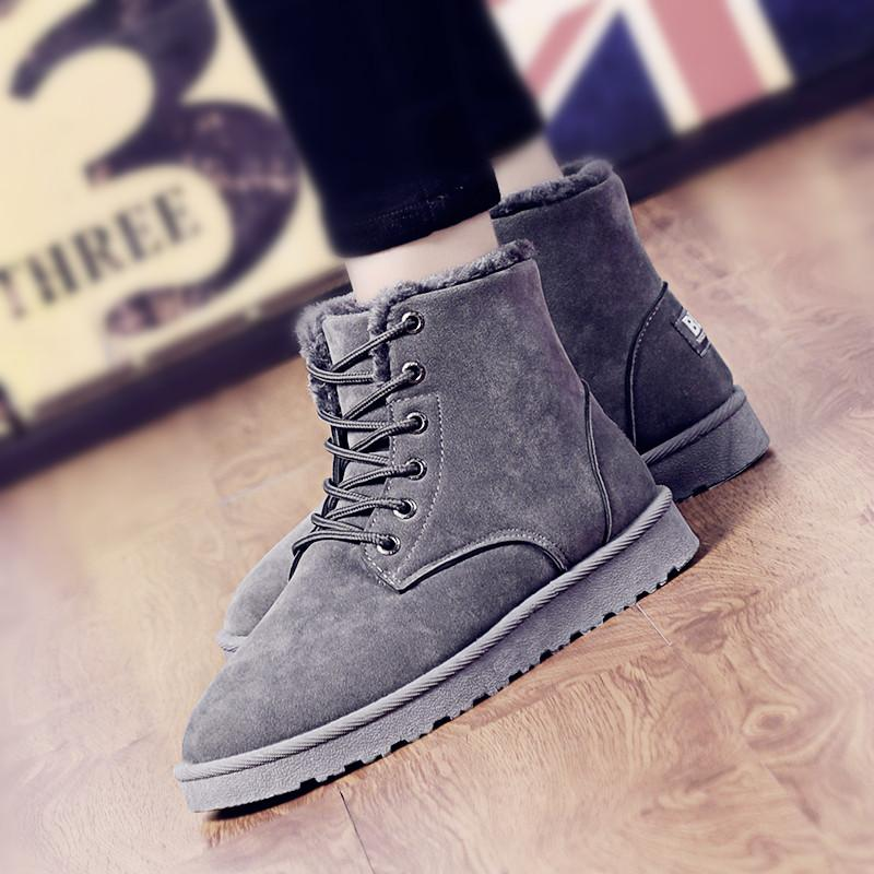8ced51398 fashion men shoes Winter boots male snow boots outdoor casual work shoes  chaussure de securite pour homme AG408