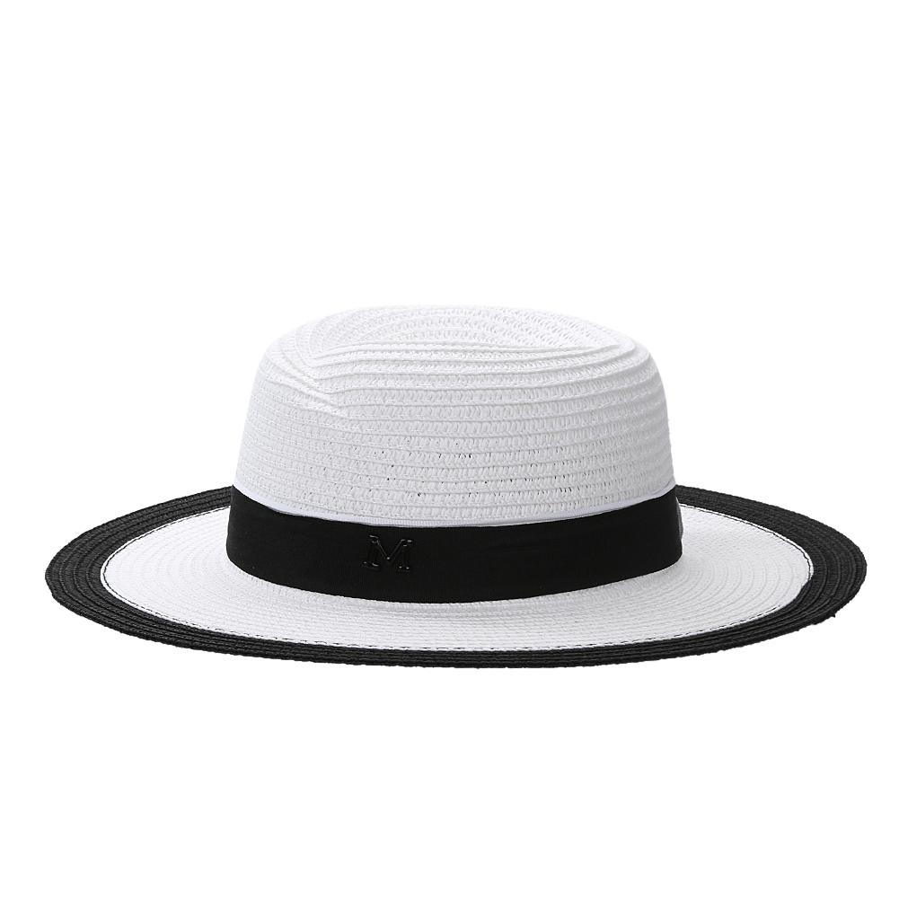 Fashion Women Straw Sun Hat Classic Cap Chic Summer Spring Beach ... 06fae8a9c9b0